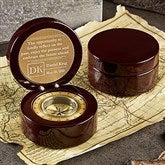 Embrace the Future Engraved Navigator Compass - 20336