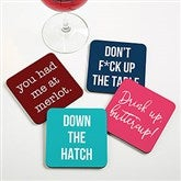 Write Your Own Expressions Personalized Coaster - 20409
