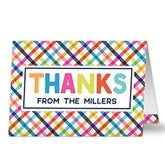 Personalized Thanks Greeting Card - 20425