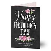 Happy Mother's Day Personalized Greeting Card - 20459