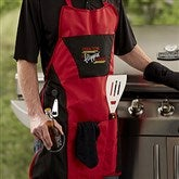 Flippin' Awesome Personalized 4pc Grill Apron Set - 20461