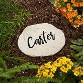 Our Mom Rocks Personalized Round Garden Stone - Small - 20467-S
