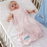 HALO® SleepSack® Personalized Pink Micro-Fleece Wearable Blanket - 20481-P