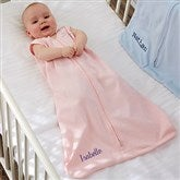 HALO® SleepSack® Personalized Pink Cotton Wearable Blanket - 20482-P