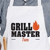 Master Of The Grill Personalized Adult Apron - 20488-A
