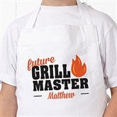 Future Master Of The Grill Personalized Youth Apron - 20488-Y