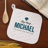 Head Chef Personalized Potholder - 20489-AP