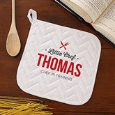 Little Chef Personalized Potholder - 20489-YP