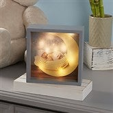 Personalized Baby Photo LED Light Shadow Box- 6