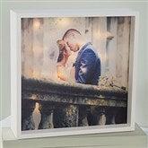 Personalized Wedding Photo LED Light Shadow Box- 10