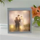 Personalized Wedding Photo LED Light Shadow Box- 6
