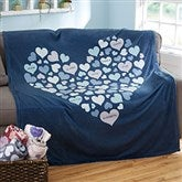 Heart Of Hearts Personalized 50x60 Fleece Blanket - 20546-F