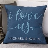I Love Us Personalized 18