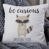Woodland Adventure Raccoon Personalized 18