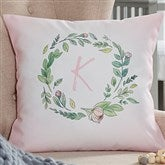 Woodland Floral Initial Personalized 14