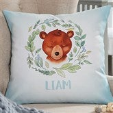 Woodland Bear Personalized 18