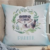 Woodland Raccoon Personalized 18