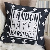 Black & White Personalized 18
