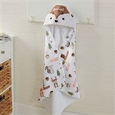 Woodland Adventure Deer Personalized Hooded Towel - 20618-D