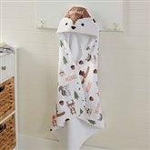 Woodland Adventure Deer Personalized Hooded Towel - 20618-D