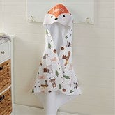 Woodland Adventure Fox Personalized Hooded Towel - 20618-F