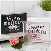 First Mother's Day Personalized Colored Keepsake - 20635