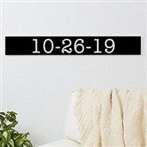 Number Expressions Personalized Wooden Sign - 20642