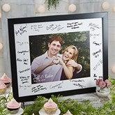 Wedding Shower Personalized Signature Photo Frame  - 8x10 - 20647-8x10