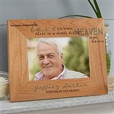 Heaven In Our Home Printed Wood Picture Frame- 4 x 6 - 20653-S