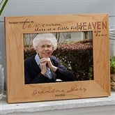Heaven In Our Home Printed Wood Picture Frame- 5 x 7 - 20653-M