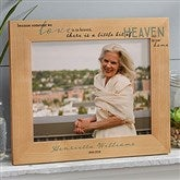 Heaven In Our Home Printed Wood Picture Frame- 8 x 10 - 20653-L