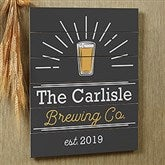 Public House Personalized Wooden Shiplap Sign- 16