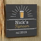 Public House  Personalized Wooden Shiplap Sign- 12'