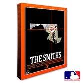 Baltimore Orioles Personalized MLB Stadium Coordinates Canvas Print - 20696-16x20
