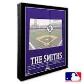 Colorado Rockies Personalized MLB Stadium Coordinates Canvas Print - 20702-16x20