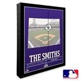 Colorado Rockies Personalized MLB Stadium Coordinates Canvas Print - 20702-16x20