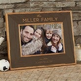 Family Is Precious Personalized Printed Wood Frame- 4 x 6 - 20733-S