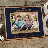Family Is Precious Personalized Printed Wood Frame- 5 x 7 - 20733-M