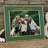 Family Is Precious Personalized Printed Wood Frame- 8 x 10 - 20733-L