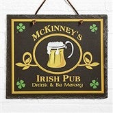 Old Irish Pub Personalized Slate Plaque - 2074