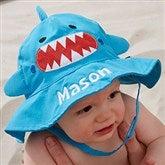 Shark Embroidered Sun Hat - 20753