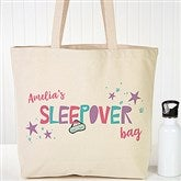 Girls Sleepover Personalized Tote Bag - 20805