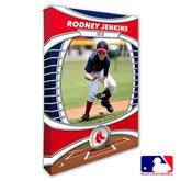 Boston Red Sox Personalized MLB Photo Canvas Print- 12