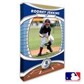 Kansas City Royals Personalized MLB Photo Canvas Print- 12