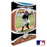 Miami Marlins Personalized MLB Photo Canvas Print- 24