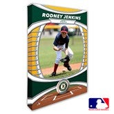 Oakland Athletics Personalized MLB Photo Canvas Print- 12