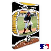 Pittsburgh Pirates Personalized MLB Photo Canvas Print- 12