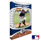 San Diego Padres Personalized MLB Photo Canvas Print- 12