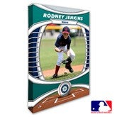 Seattle Mariners Personalized MLB Photo Canvas Print- 12
