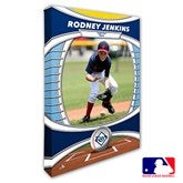 Tampa Bay Rays Personalized MLB Photo Canvas Print- 12